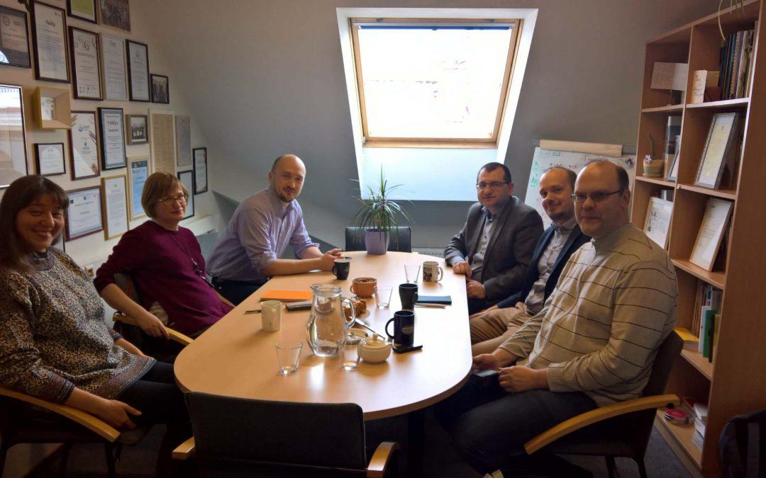 Susitikimas Transparency International Lietuvos skyriuje