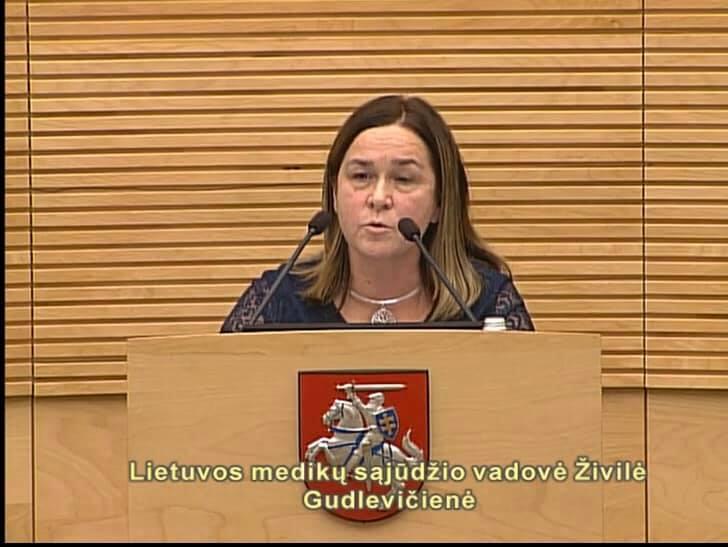 Pasisakymai Lietuvos Respublikos Seime 2019-11-28
